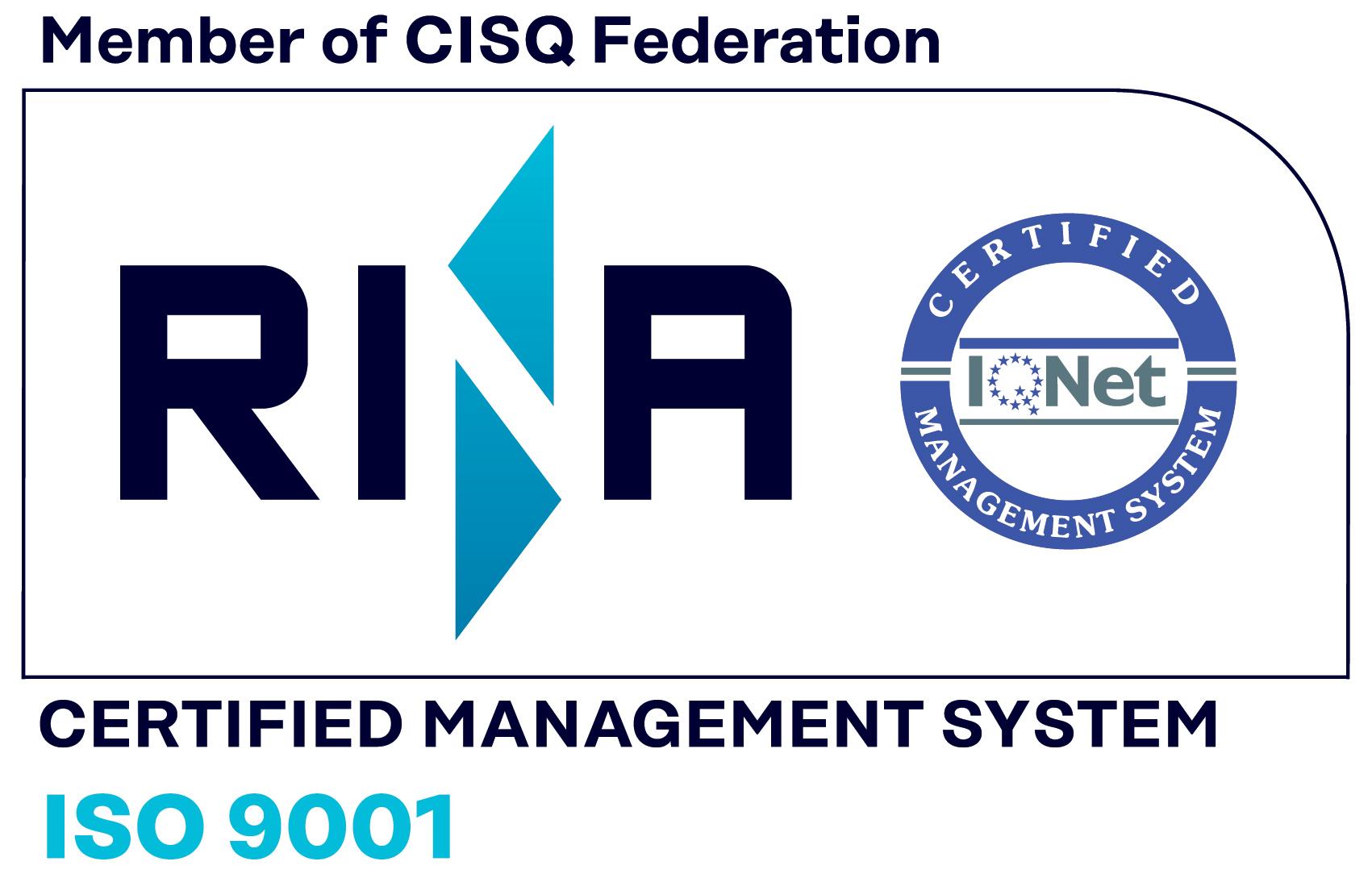 FirEst S.r.l. certificata ISO 9001 per manutenzioni su impianti e presidi antincendio e formazione sulla sicurezza sul lavoro