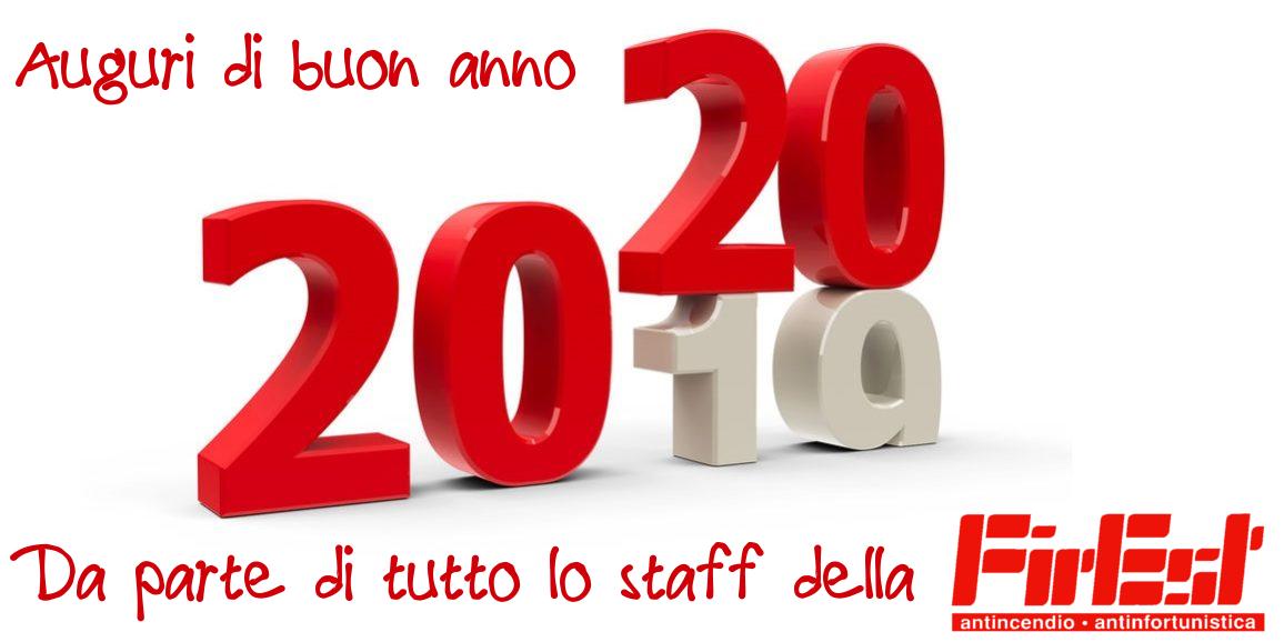 Buon anno 2020 da parte di tutto lo staff della FirEst